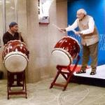 RT @AdityaRajKaul: PM @narendramodi spontaneously playing drums in #Japan conveyed such a lively, charming image of #India. Well done! http://t.co/XJOvN4Cj6P