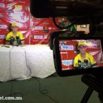 Man of the Match @mitchmarsh235 speaks to the media after todays win. Video on http://t.co/XCmTeEAmKt soon #SAvAUS http://t.co/5njKXzfo3n