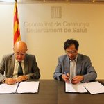 vía @Pepbogota Convenio Min Salud Gob d Cataluña y Btá para intercambios d experiencias en la materia @petrogustavo http://t.co/JklgeEGfHZ