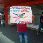 #2S En Lara protestaron contra el sistema de Captahuella #360ucv http://t.co/P8BZsKs5rL