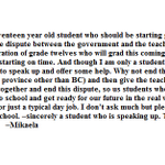 .@simisara980 discusses this letter a grade 12 student wrote to @FassbenderMLA about the #bced dispute http://t.co/zwnugdhOqe