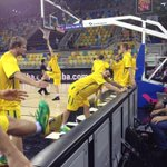 @BradNewley & @AussieBoomers in the house to face Lithuania @FIBA #Spain2014. Tip off in 10mins on @ABC2. #GoBoomers http://t.co/OmUtqeCmwb