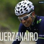 Que grande. que caída.pero es de grandes parase y seguir pedaleando #FuerzaNairo que gran etapa de Uran. @stevenarce http://t.co/vnbOn2TcQY