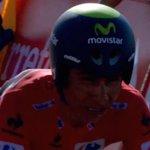"""RT @Movistar_Team: Aplauso ENORME a @NairoQuinCo. Tras su dura caída, concluye la CRI. 4'07"""" a Martin (OPQ), ganador en Borja. #LaVuelta http://t.co/lvamG50sAX"""