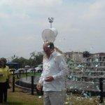 RT @BluRadioCali: #FOTO Alcalde @rodrigoguerrerr, participa de la campaña mundial #IceBucketChallenge http://t.co/0g6TIL0Jzf