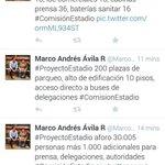 RT @DiegoMartinez_C: Concejal @MarcoAndresAvil da a conocer características de uno de los proyectos del estadio de Cuenca. @FactorMradio http://t.co/tyImo8310E