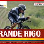Rigoberto Urán fue tercero en la etapa contra el reloj de la Vuelta a España. http://t.co/RfzaFORMoE http://t.co/bxEueZSCCF