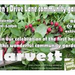 Queens Drive Lane Community Garden harvest tonight 6.30-8.30 #glasgow #glasgowsouth http://t.co/b58TXcDoGC