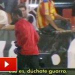 RT @diarioas: El gesto de Kameni con unos aficionados que le insultaban en Mestalla http://t.co/aob1uSevJd Vía: @as_tv http://t.co/g4bc2Alheu