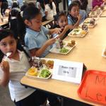 All CPS neighborhood schools -and charters that opt into food program- serving only free meals this year #firstday http://t.co/AR1JyeY0Wg