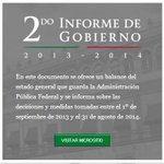 En el sitio http://t.co/k4xcxEPVNH puedes visualizar o descargar el #SegundoInformeDeGobierno del Presidente @EPN http://t.co/21nFcV5G4t