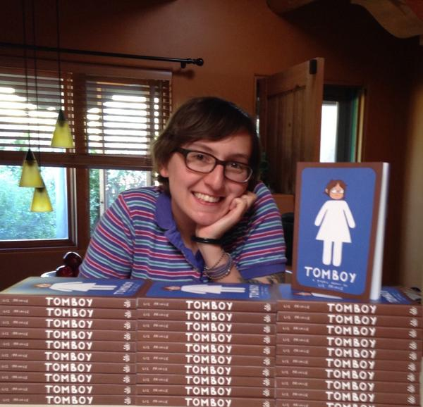 Today is Tomboy day! Go find the book in your local bookstore and send me a photo! http://t.co/gpaTC7sm8U