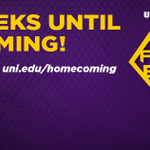 RT @UNI_Admissions: It is two weeks until #UNIHC begins! Are you ready for homecoming? #LivePurple http://t.co/TEGbhyvf75