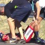 RT @elespectador: Fuerte caída de Nairo Quintana http://t.co/67TkkcziKM http://t.co/PmbF8PujYO