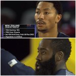 New Zealand players do the haka before they take on Team USA, baffling @drose and @JHarden13 http://t.co/rgXH0i0742 http://t.co/SP9Y6sm6hR