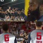 RT @Ballislife: LOL! James Harden & Team USA react to New Zealand's Haka Dance of War | FULL VIDEO: http://t.co/nMshflxUt9 http://t.co/xIw9oxEMF4