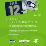 RT @PeteCarroll: Use #Seahawks @Starbucks cards & Starbucks will donate $0.25 of each purchase to @ABetterSeattle until 9/21! http://t.co/jrXRyB5Ewq
