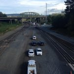 RT @JEFFQ13: Protesting oil, gas and coal trains in Everett. #Q13FOX http://t.co/LHRui562nm