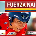 RT @elespectador: Nairo sufrió una caída, la cual le hizo perder el liderato en la @lavuelta #FuerzaNairo http://t.co/WkAFDiR3Ee http://t.co/OUEyajBvQG