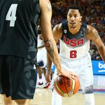 RT @chicagobulls: Final: USA 98, New Zealand 71. Rose finished with 3 points, 2 assists, 0 turnovers in 16:39 on the floor. #Spain2014 http://t.co/9D5OylxKIk