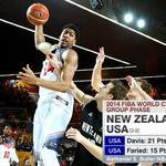 RT @ESPNNBA: .@AntDavis23 (21p, 9r), @KennethFaried35 (15p, 11r) lead @usabasketball to win over New Zealand. #Spain2014 http://t.co/B2BCbNZGkx