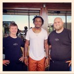 Great having @BCarr39 of the @DallasCowboys visit @PizzeriaTesta today! ???????? #pizza #Football #FriscoTX #DallasCowboys http://t.co/JVNgYhxLer