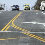 Lane shift: the Napa #earthquake forcibly realigned this stretch of Highway 12/121. http://t.co/q5xp9HdGNf http://t.co/GBTst0Avdq