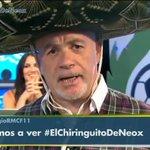 """RT @elchiringuitotv: """"VIVA MÉXICO Y VIVA CHICHARITO"""" ¡Así se ha presentado @alfredoduro1 en #ElChiringuitodeNeox ¡VENTE! http://t.co/nWg9rSEL0u"""