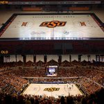 Heres a look at the new #okstate basketball court (via @ryancameron24) http://t.co/rTvMnb0fNl