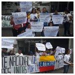 Mov. Estudiantil en #PalaciodeJusticia exigen libertad plena para @SaiRaMrivas Manuel Cotiz http://t.co/rAsh36UIaa vía @milmanrique #2S