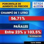 RT @NTN24ve: Nuevos precios de champú y pañales de bebé inalcanzables para familias venezolanas http://t.co/MBSZBMxH58 http://t.co/c5izCcQ71a