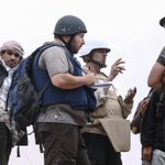Video reportedly shows the Islamic State beheading American journalist Steven Sotloff: http://t.co/VMzYO9RBRa http://t.co/3cKeOG69az
