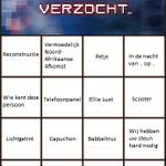 Lekker #OpsporingVerzocht We hebben de #Bingo kaart klaar! http://t.co/PcIQsJiIXL