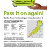 Pass it on again! Community re-use event in #Dundas returns on September 12. Details: http://t.co/Ah4F4JYRg4 #HamOnt http://t.co/Zm4QSNK1Dc