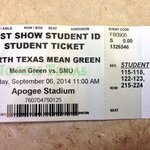 Want to win an SMU game ticket? Well, you don have to...cause theyre free! Go pick yours up! #BeatSMU http://t.co/1roz57WZzA