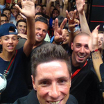 Its #selfie time for Fernando @Torres at #CasaMilan! http://t.co/blo3IkzCLZ