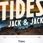 YAY FINALLY #JackAndJackTides IS OUT!! GO GET IT!! @jackgilinsky @JackJackJohnson #JackAndJackTides http://t.co/2AD3D3flpw