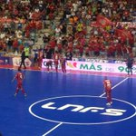 Ambientazo en el @ElPozoMurcia_FS vs @InterMovistar. @javimaba @Pumar3 @mariapina10 #Supercopa http://t.co/ZWrtUgdV9N