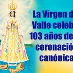 #Venezuela | Inician fiestas en homenaje a la Virgen del Valle por cumplirse los 103 años de su coronación canónica http://t.co/dv2Edq9wx4