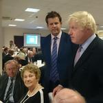 Huge thanks to Boris coming to our Somerset Candidates fundraising dinner this evening. Amazing speech! #GE2015 #Bath http://t.co/LMbzsqUySW