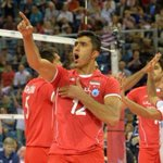 VIVA #Iran defeated USA at 2014 FIVB Volleyball World Championship in Poland. #FIVBMensWCH http://t.co/68T64K5yKw
