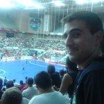 Viendo @ElPozoMurcia_FS en el palacio d los deportes, y oleeee @DaniGuitar88 http://t.co/Rc3pZVpxQ0
