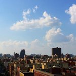 Cumulus clouds over Harlem on the hottest day of the year! #nyc #weather http://t.co/BnaeY8lZsx