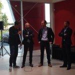 Via @BC_Cambuur: Keepers #Cambuur worden aan tand gevoeld door @arjendeboer12 tijdens meet & greet bij @Bourguignon http://t.co/4J37JdOxiv