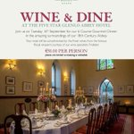 RT @glenlo_abbey: #galwayhour #burrenlowlands Good evening all! Any foodies? Wine Connoisseurs? Wine & Dine Event, 16th Sept http://t.co/JmpxVGf7u0