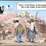 RT @bryce_edwards: Investigators ignore the #DirtyPolitics crime scene, according to Emmerson cartoon in todays Herald: http://t.co/uL4RuX9p7e