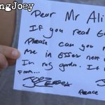 RT @JoeyEssex_: Proper sad the Alian didnt get the letter ???? http://t.co/cx3Ow1bKC9