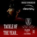The tackle of the year is awarded to Ade Gardner for his tackle vs. Wigan... #HKRPOYA2014 http://t.co/ZGWe4dgVXK