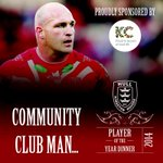 The Community Club Man of the year goes to... #HKRPOYA2014 http://t.co/RlQCMqBfZy