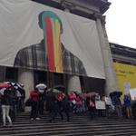 Student rally at #VAG about to get underway. #bced @vdscouncil http://t.co/BwjZwi3YXG